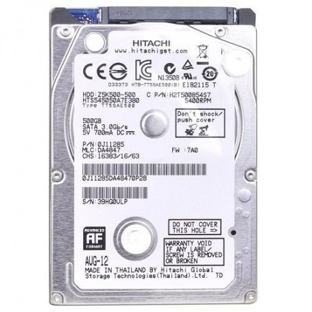 Hitachi 500GB SATA-300