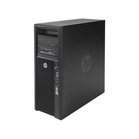 HP Z420 1x Xeon 6C E5-1650 V2 3.5GHz, 32GB DDR3, 256GB SSD, 2TB HDD, Win 10 Pro