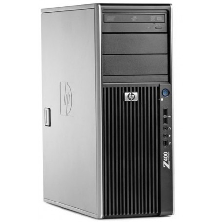 HP Z400 Workstation W3503 2.40GHz 4GB DDR3 250GB SATA/DVDRW Quadro NVS295 Win 10 Pro