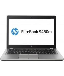 """HP Elitebook Folio 9480m I5-4210u, 4GB DDR3, 256GB SSD, 14"""", Win 10 Pro"""