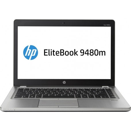 "HP Elitebook Folio 9480m I5-4210u, 4GB DDR3, 256GB SSD, 14"", Win 10 Pro"