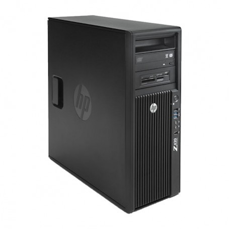 HP Z420 Intel Xeon 6C E5-1650v2 3.50GHz, 64GB DDR3, 256GB SSD 2TB HDD, K5000, Win 10 Pro