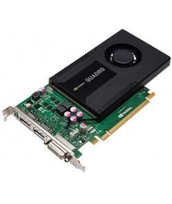 HP Quadro K2000 - 2 GB GDDR5 - PCIe 2.0 x16 - DVI, 2 x DisplayPort
