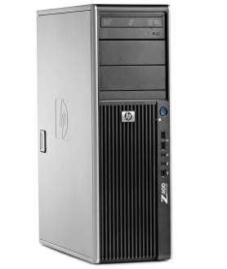 HP Z400 Workstation W3530 2.80GHz 8GB DDR3 1TB HDD SATA/DVDRW Quadro 2000 Win 10 Pro