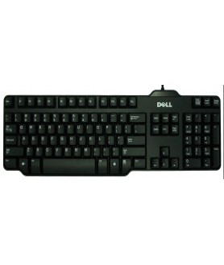Dell Keyboard US USB Black