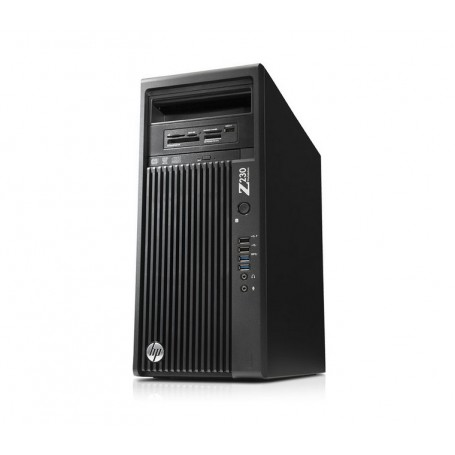HP Z230 Workstation MT Intel Xeon QC E3-1280V3 32GB DDR3 2TB HDD Quadro K4000 Win 10 Pro